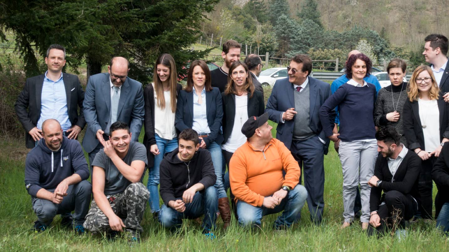 Il team di Finestra Italia