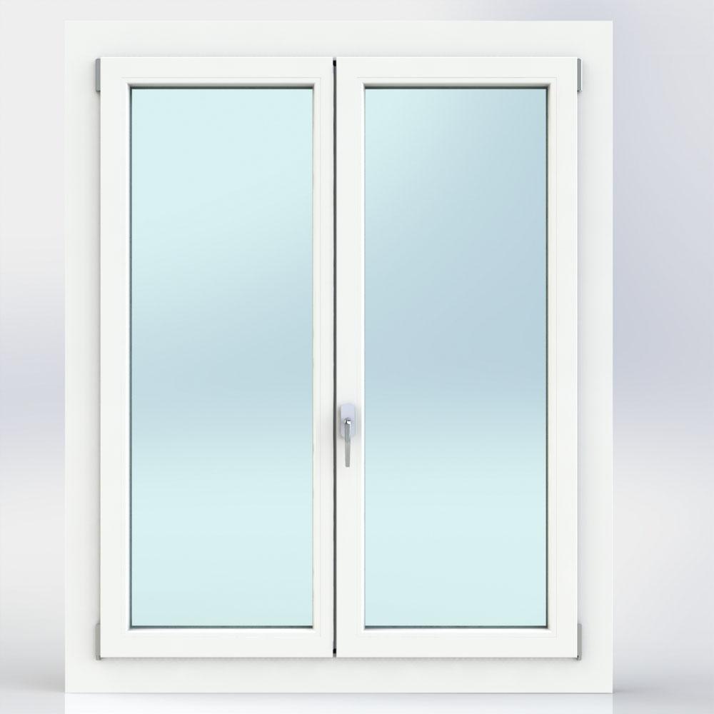 Finestre porte finestra a battente in pvc modelli e prezzi - Finestra vasistas prezzi ...