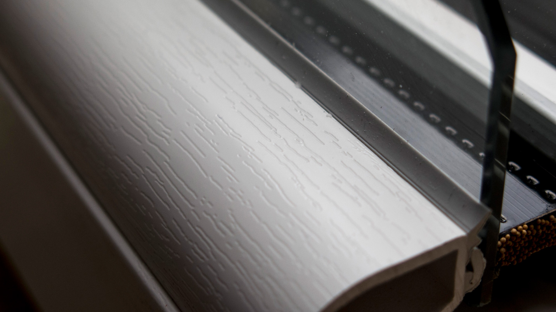 Doppio vetro basso emissivo su infisso in PVC