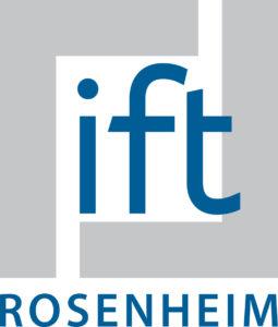 Logo dell'ente certificatore ift Rosenheim
