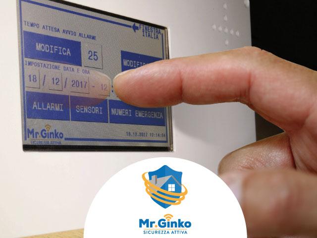 Centralina di controllo del sistema Mr.Ginko